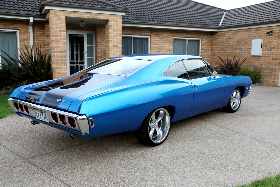 1968 Chevy Impala Fastback East Coast Car Excellence Chevrolet Custom Coupe 427